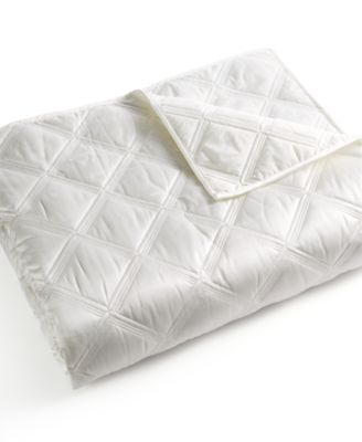Hotel Collection Radiant Quilted Full/Queen Coverlet, Only at Macy's