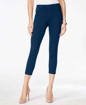 Style  Co. Petite Pull-On Capri Leggings Only at Macys $15.99 AT vintagedancer.com