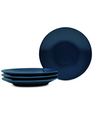 Noritake Navy-On-Navy Swirl Coupe Collection