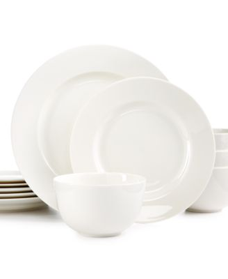 Martha Stewart Collection 12-Pc. Kensington Round Dinnerware Set