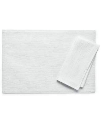 "Bardwil Continental Collection 13"" X 18"" White Placemat"