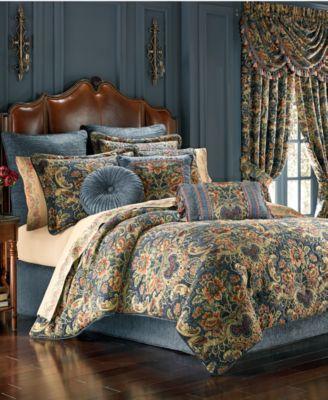 J Queen New York Cassandra Queen Comforter Set