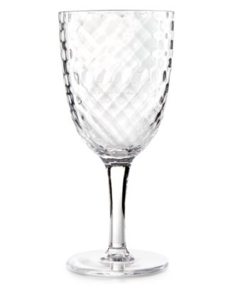 Home Design Studio Clear Acrylic Drinkware Collection Wine Glass, Only at Macy's