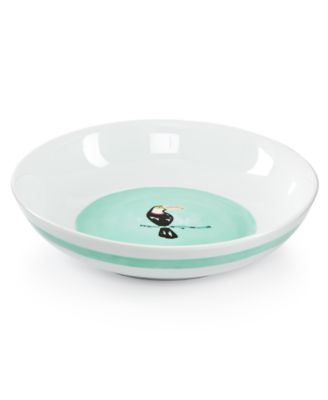 Whim by Martha Stewart Collection Dinnerware Collection Mint Dinner Bowl, Only at Macy's