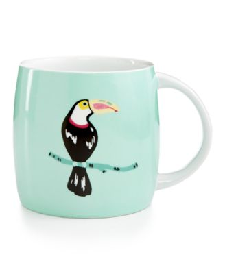 Martha Stewart Collection Whim Mugs Collection Toucan Mug, Only at Macy's