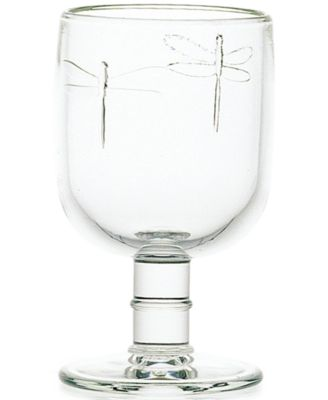 La Rochere Collection 6-Pc. Dragonfly Water Glasses
