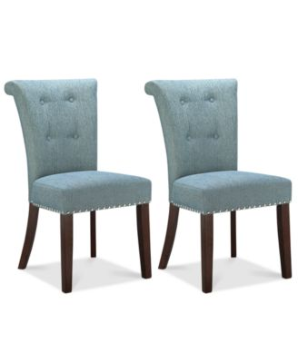 Farah Set of 2 Dining Chairs, Direct Ship