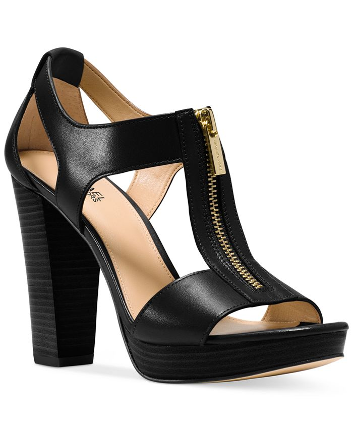 Michael Kors - Berkley T-Strap Platform Dress Sandals
