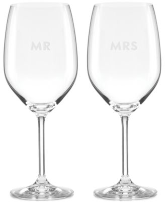kate spade new york Darling Point Collection 2-Pc. Wine Glasses Set