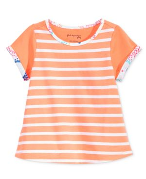 First Impressions Baby Girls' Stripe-Print Tunic, Only at Macy's