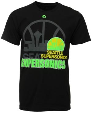 Majestic Men's Seattle SuperSonics Game Reflex T-Shirt