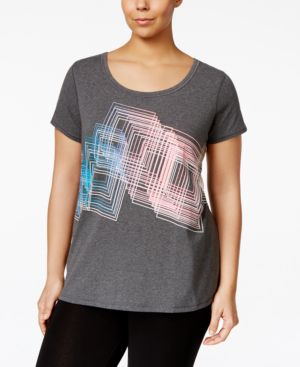 Ideology Plus Size Graphic T-Shirt, Only at Macy's