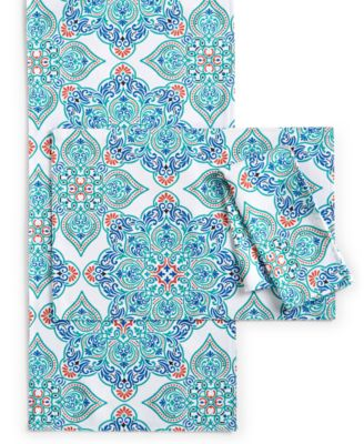 Bardwil Messina Medallion Blue Collection Placemat
