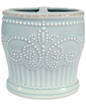 Lenox French Perle Groove Toothbrush Holder