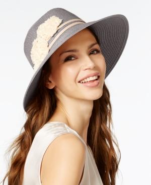 August Hats Floral Large Fedora $8.99 AT vintagedancer.com