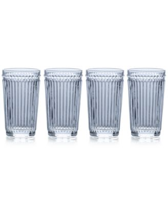 Mikasa Italian Countryside Highball Glasses, Set of 4