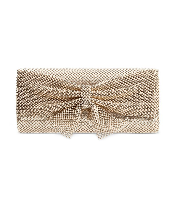 Style & Co - Mesh Bow Clutch