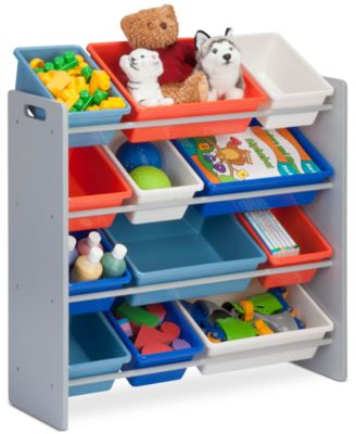 Honey Can Do Kids Storage Organizer, 12 Bins