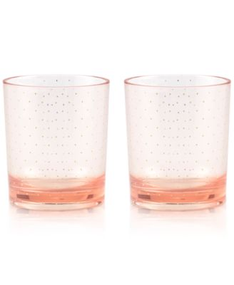 kate spade new york Patio Floral Collection 2-Pc. Blushing Tumblers Set