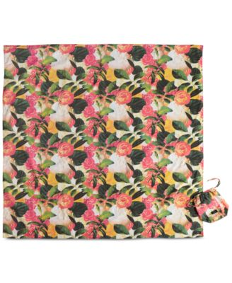 kate spade new york Patio Floral Collection Picnic Blanket