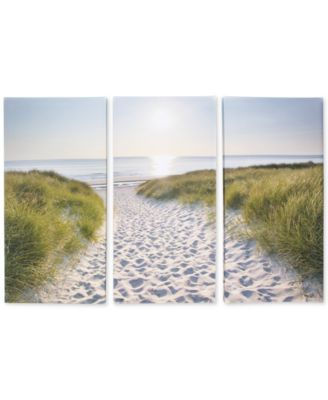 Graham & Brown Beach Walk Canvas Set