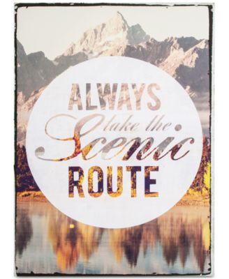 Graham & Brown Scenic Route Canvas Print