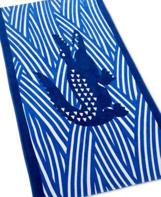 Lacoste Croco Jungle Beach Towel
