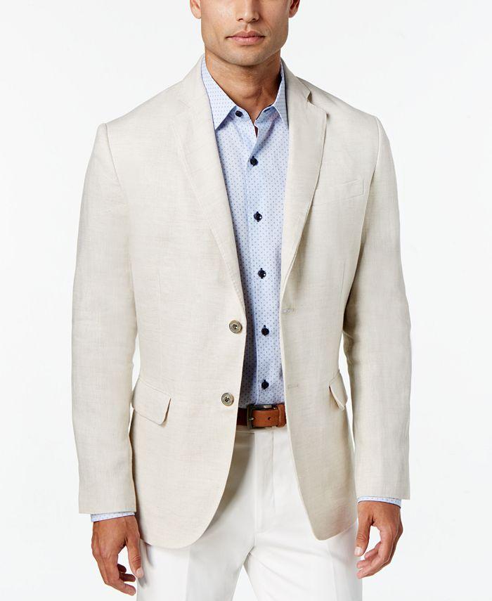 Tasso Elba - Jacket, Updated Linen Blazer