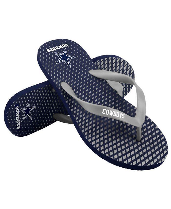 Forever Collectibles - Dallas Cowboys High End Flip Flops