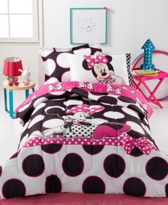 Disney's Minnie Dots are the New Black Twin 5-Pc. Comforter Set