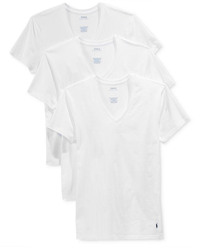 Men's 3-Pk. Slim Fit Classic T-Shirts