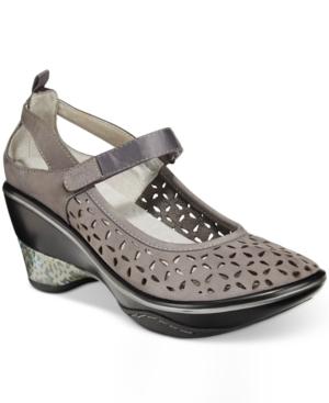 Jambu Women's Calypso Mary Jane Wedges Women's Shoes