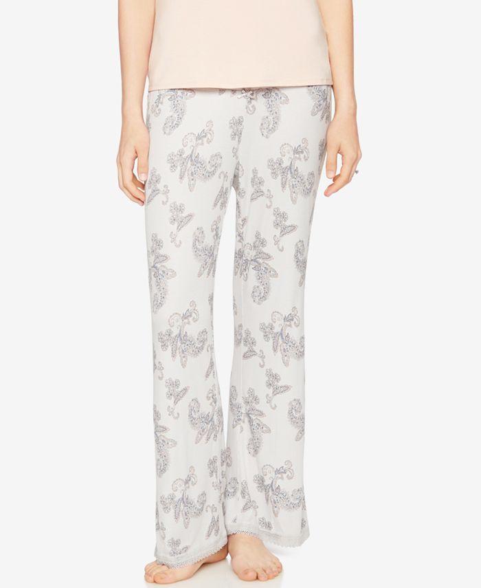 A Pea in the Pod - Printed Maternity Pajama Pants