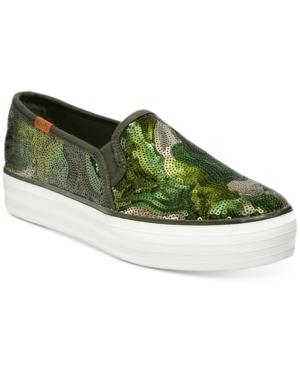 Keds Women's Triple Decker Slip-On Sneakers Women's Shoes