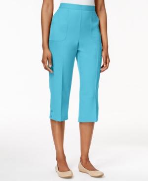 Alfred Dunner Petite Capri Pants $39.99 AT vintagedancer.com