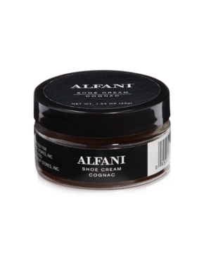 Alfani Cognac Shoe Cream, Only at Macy's Men's Shoes