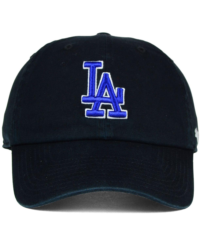'47 Brand Los Angeles Dodgers Core Clean Up Cap & Reviews - Sports Fan Shop By Lids - Men - Macy's