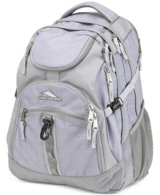 High Sierra Access Backpack in Gray
