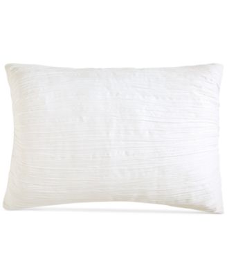 DKNY City Pleat White Standard Sham