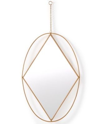 Home Design Studio Oval Pendant Mirror, Only at Macy's
