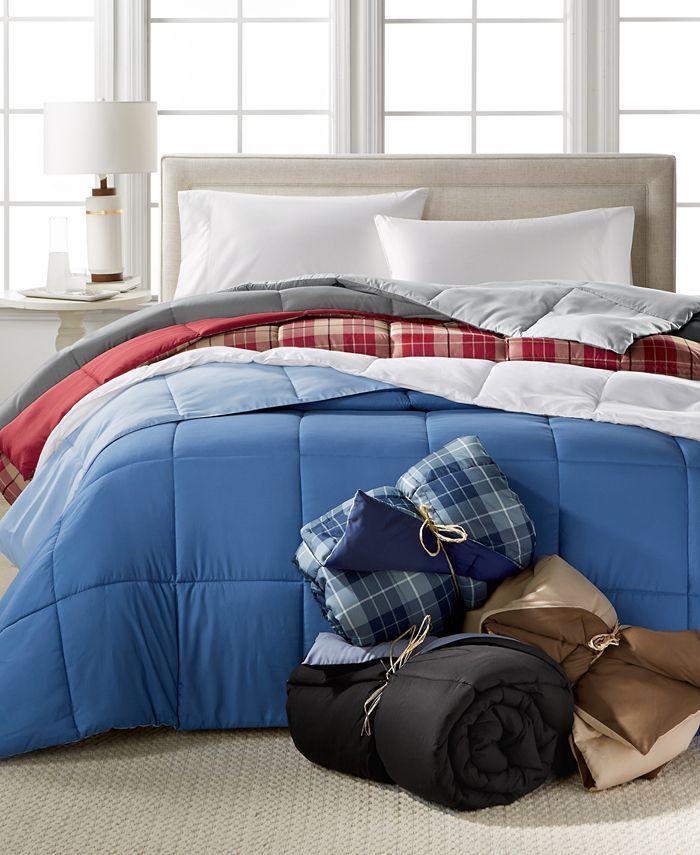 Home Design - Down Alternative Colored King Comforter