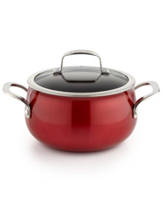 Belgique Red 3-Qt. Soup Pot with Lid, Only at Macy's