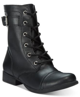 Image of American Rag Faylln Combat Booties, Only at Macy's