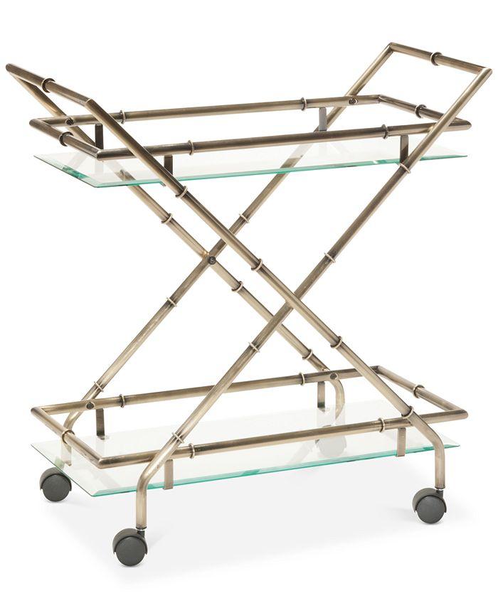 Office Star - Rectangular Bar Cart