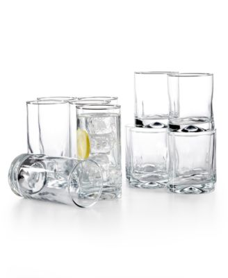 The Cellar Silhouettes 12-Pc. Glassware Set, Only at Macy's