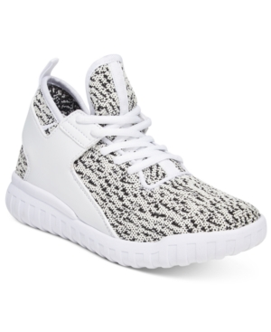 Wanted Hiphop Lace-Up Flyknit Sneakers Women's Shoes