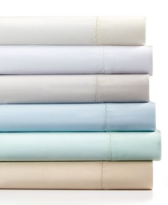 Martha Stewart Collection 360 Thread Count Cotton Percale King Sheet Set
