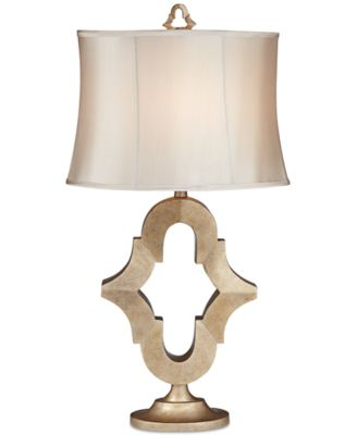 kathy ireland Home by Pacific Coast Moroccan Mist Table Lamp