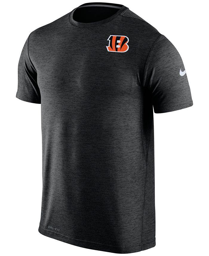 Nike - Men's Cincinnati Bengals Dri-FIT Touch T-Shirt