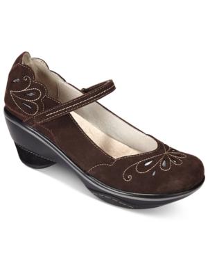 Jambu Women's Bombay Mary Jane Pumps Women's Shoes